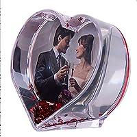 708dd01e4e Dkora-T - Bola de nieve con fotos - Forma de corazón