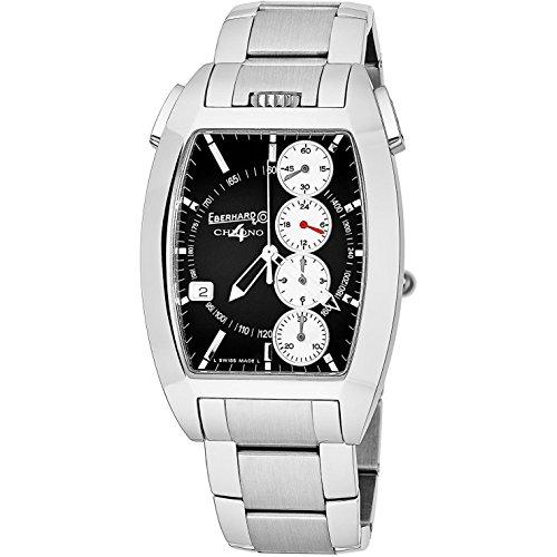 Eberhard Chrono 4 Temerario Automatic Watch, ETA 2894-2, Black, 31047.9.CP