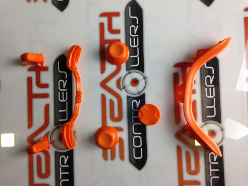 Lot de Boutons Orange pour manette Xbox 360