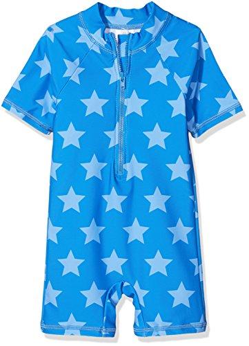 Sanetta Baby-Jungen Badeanzug 430379, Blau (Sailor Blue 5909), -