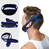 Global Mart Anti-Snoring Chin Strap Easily Adjustable Snore Stopper Mouthpiece