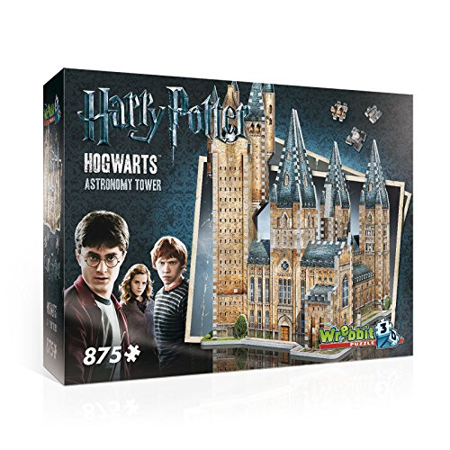 Harry Potter Astronomy Tower 3D Jigsaw Puzzle Made by Wrebbit Puzz-3D by WREBBIT 3D