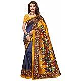 Saree (CRAZY_FASHION_SURAT Bollywood Sarees 2018 New Sarees Collection Fancy Cotton Sarees Latest Sarees Collection...
