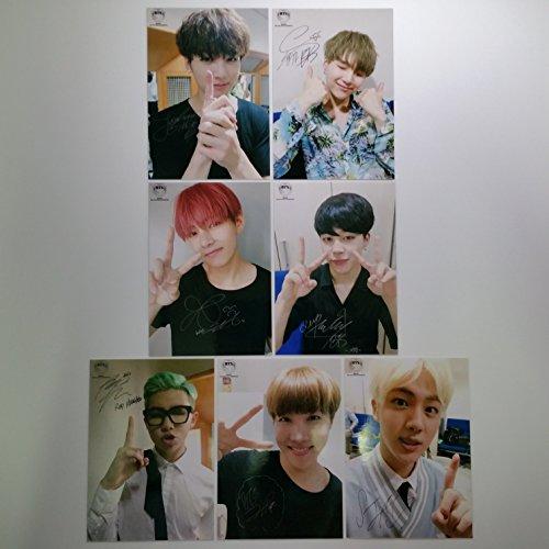 BTS Bangtan Boys fancafe Fire Final Promotional Stage Photo Set