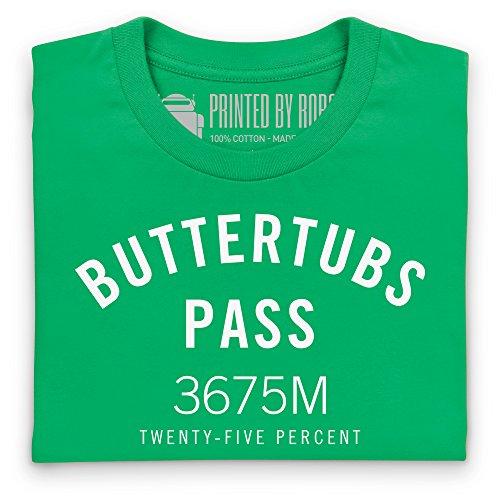 Cycling - Buttertubs Pass T-Shirt, Damen Keltisch-Grn