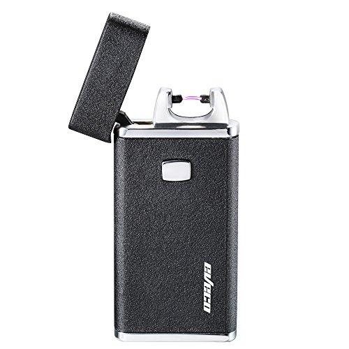 Eveco coupe-vent USB rechargeable sans gaz électrique Plasma Arc allume-cigare avec coffret cadeau raffiné