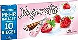 Yogurette Erdbeere, 10 Riegel, 125 g
