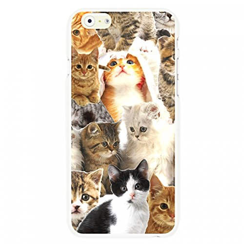 OnlineBestDigital - Animal Pattern Hardback Case / Housse pour Apple iPhone 6 / 6S (4.7 inch)Smartphone - Tiger Small cats
