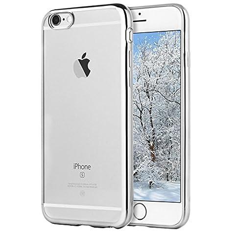 Coque iPhone 6/6s, Transparent Clair Gel Silicone [Ultra Slim] +