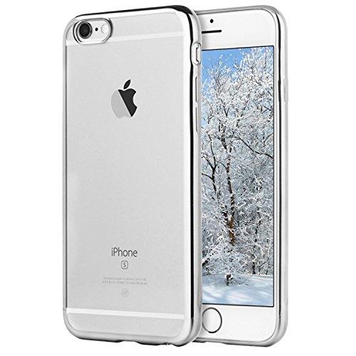 IPhone 6 / 6s Hülle, Klar Klar Silikon Gel [Ultra Slim] + [Anti-Scratch] + [Anti-Schock] Bumper TPU Soft Case Klarer Fall Abdeckung für Apple iPhone 6 / 6s - 4.7 Zoll 2015 (Klarer Fall 6 Iphone)