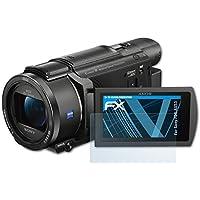 Protector de pantalla 6x para Sony hdr-cx625 lámina protectora claro lámina protector de pantalla