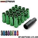nusey (TM) V48acero 12x 1.25ampliar Llanta Rueda Sintonizador Lug Nut (Acorn ep-nutv48–125