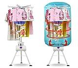 930048 Asciugabiancheria elettrico a pallone ad aria calda con timer 145 x 60 cm. MEDIA WAVE store...