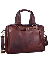 STILORD Marlon Sac en cuir homme travail université bureau vintage sac en  bandoulière grand pour ordinateur ... fb4083dcbc0