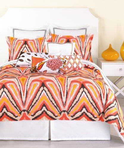 trina-turk-2-piece-peacock-punch-comforter-set-twin-orange-by-trina-turk