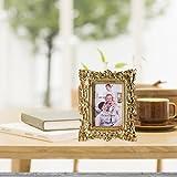 Giftgarden Bilderrahmen 10x15cm Barock golden viereckig golden Geschenke Freunde - 2