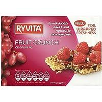 Ryvita Pan Crujiente Crujido Fruta (200g) (Paquete de 2)