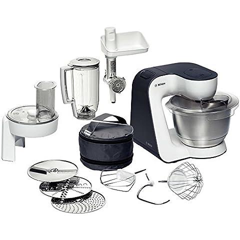 Bosch MUM52131, Robot da cucina, Kitchen Machine Compatto, colore: Bianco/Grigio