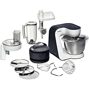 Bosch MUM52131 Robot Kitchen Machine Compacte Blanc/Gris