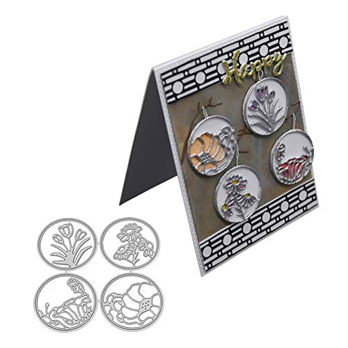Teile/satz Neue Verschiedene Kranz Metall Stanzformen Schablone DIY Scrapbooking Präge Album Papier Karte Handwerk Halloween Dekoration ()
