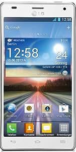 LG P880 Optimus 4X HD Smartphone (11,9 cm (4,7 Zoll) Touchscreen, 8 Megapixel Kamera, 1,5GHz, NFC, WiFi, Android 4.0) weiß