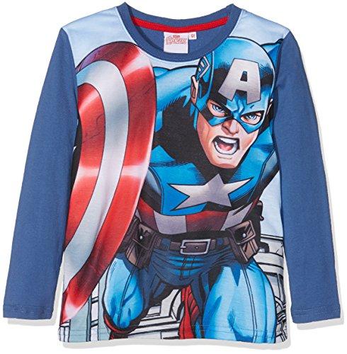 Avengers Assemble Ragazzi Maglietta maniche lunghe - blu - 128
