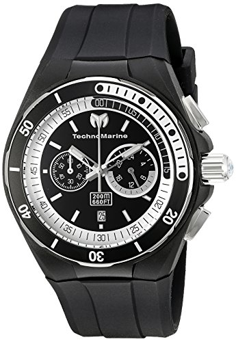 technomarine-mens-quartz-watch-with-black-dial-chronograph-display-and-black-silicone-strap-tm-11515