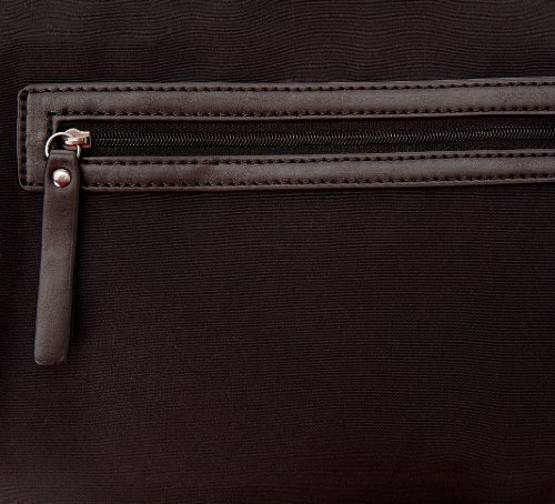 Calvin Klein Jeans Satchel Denim Jacqua, Borsa con maniglia donna Nero (Noir (999))