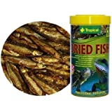 Dried Fish - 100% natural food for Reptiles, Turtles and Large Aquarium Fish - from Tropical - 250ml