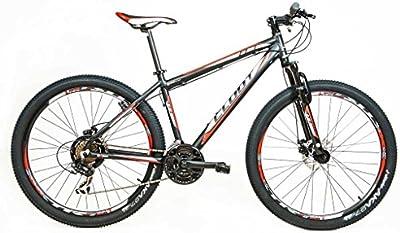 Cloot Bike - Bicicleta de montaña-Mountainbike 27.5-MTB -Xr trail 70R Shimano 21 velocidades, Horquilla Bloqueo, Aluminio 6061, Frenos disco Shimano, Geax Aka.