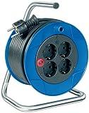 Brennenstuhl 1079180004 - Cable (Masculino, 15m, Negro, Azul, Negro)