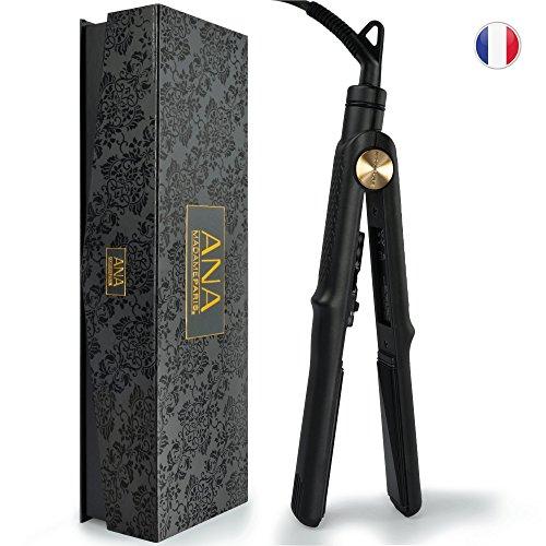 Lisseur ANA MadameParis - Qualité PRO avec Plaques Nano Céramique -