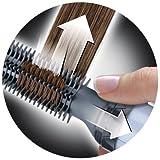 Braun Satin Hair 1 Airstyler Warmluft-Lockenbürste AS110, mit Bürstenaufsatz, 200 Watt -