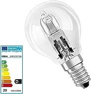 Osram Halojen Klasik P Şeffaf Sarı Işık E14 Duy Ampul, 20W