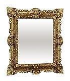 Lnxp WANDSPIEGEL Spiegel RECHTECKIG Gold REPRO 45x38 Antik Barock Rokoko REPLIKATE NOSTALGISCH Renaissance BAROCKSTIL