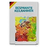 Bespannter Keilrahmen (unbedruckt), 60x180cm, 250g/m² (100% PES), 18 mm (Standard)