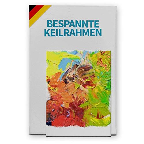 Bespannter Keilrahmen (unbedruckt), 70x180cm, 250g/m² (100% PES), 18 mm (Standard)