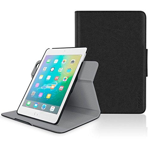 roocase Orb System Schutzhülle für Apple iPad Mini 3, 360 Dual View, Leder, Schwarz schwarz Case Dual-view-case
