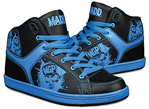 Madd Gear Pro MGP Shreds Chaussures de sport Rouge/noir Multicolore - Black & Blue