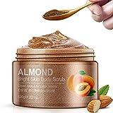 Piel de almendras Exfoliante Facial Hidratante Loción Exfoliante hidratante Gel Exfoliante...