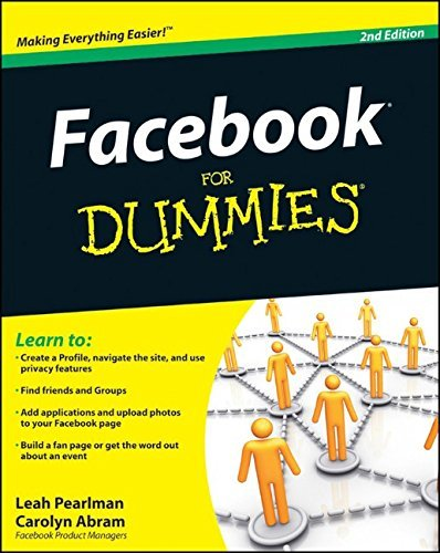 Facebook For Dummies by Leah Pearlman (November 09,2009)