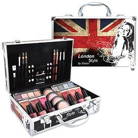 Gloss ! Make up & accessoires – Mallette de Maquillage – Coffret 60 Pièces de Cosmétiques, Coffret Cadeau-Coffret…