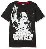 STAR WARS 173772 T-shirt Garçon NA Noir (Noir Noir) 6 ans (Taille fabricant:6 ans)