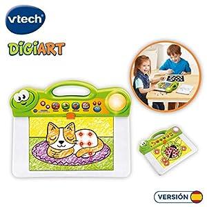 VTech- DigiART Pizarra Luces y Colores, Aprende a Colorear (3480-163822)