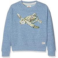 Unbekannt Mädchen Sweatshirt Wide Sweater Turtle