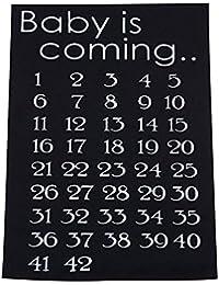 Calendario Delle Settimane Di Gravidanza.Amazon It Calendario Avvento Ultimi Tre Mesi Abbigliamento