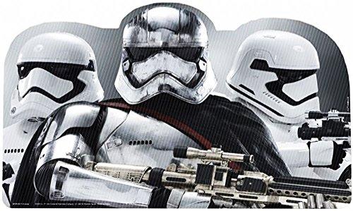 Disney Star Wars 3D Tischunterlagen Verschiedene Motive Plus Sticker Mitgebsel (4 Stück, Set 3) (8 Stück Frühstücks-set)