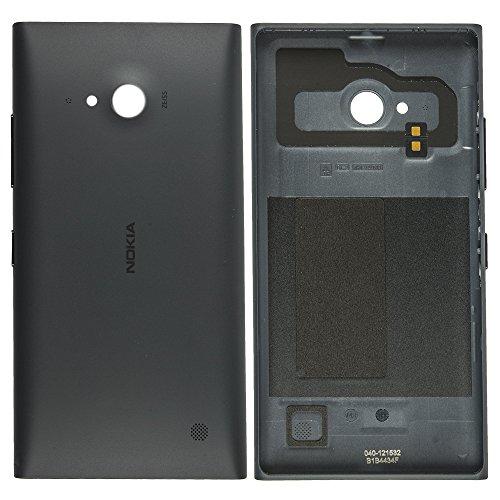 Original Nokia Akkudeckel grey / grau für Nokia Lumia 730 (Akkufachdeckel, Batterieabdeckung, Rückseite, Back-Cover) - 02507Z3