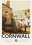 Vintage Travel Cornwall mit Great Western Railway 1930's