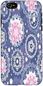 Snoogg Delightful Flower Pattern Cute Designer Protective Back Case Cover For...